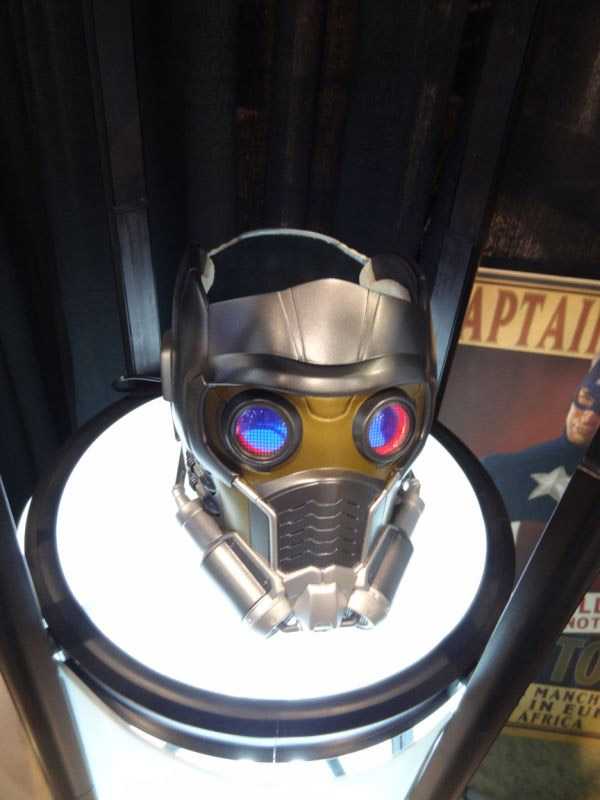 Guardians of the galaxy star lord mask replica