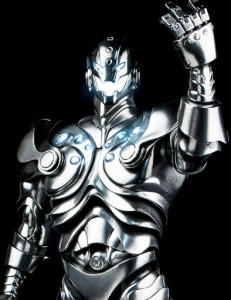 3A Ultron Figure with Light-Up Eyes Mouth and Chest