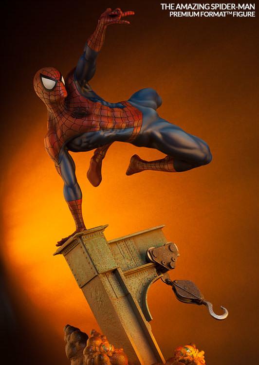Amazing Spider-Man Premium Format Figure Statue Sideshow 2015