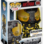 Exclusive Funko Glow in the Dark Yellowjacket POP Vinyl!