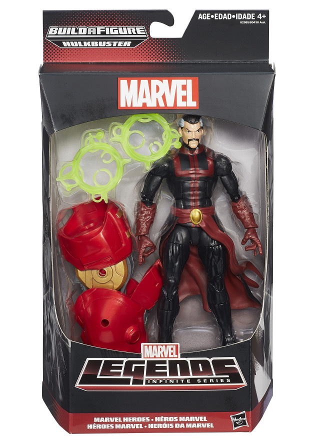 Avengers Legends Doctor Strange Figure Packaged