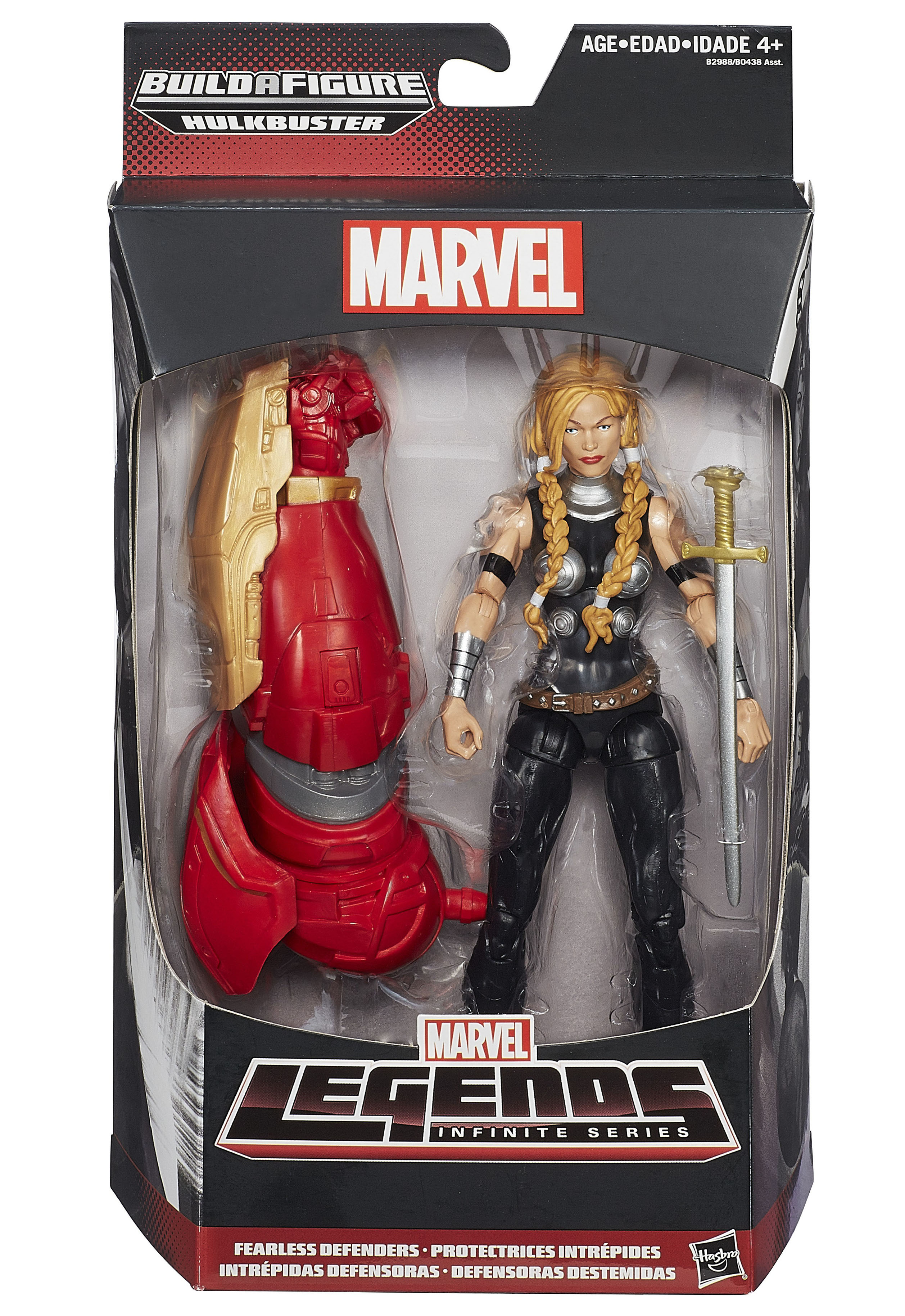 "Marvel Legends 6/"" scale figure Thundra Hulkbuster BAF SERIES HASBRO LOOSE ONLY"