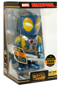 Funko Hikari Blue Deadpool Exclusive Figure Packaged
