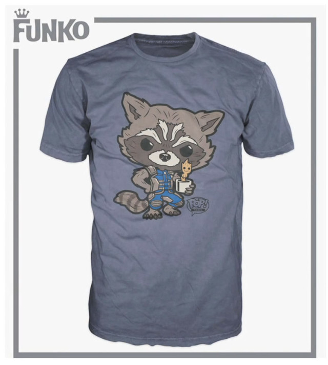 Limited Funko Marvel Pop Vinyls T Shirts Announced