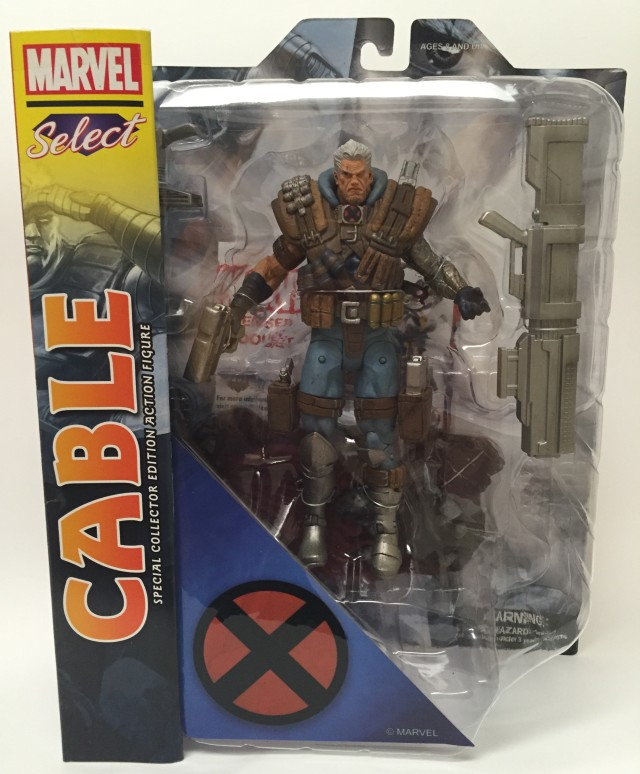 Packaged Diamond Select Toys Cable Action Figure