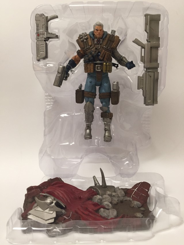Marvel Select 2015 Cable Figure in Packaging with Accessories