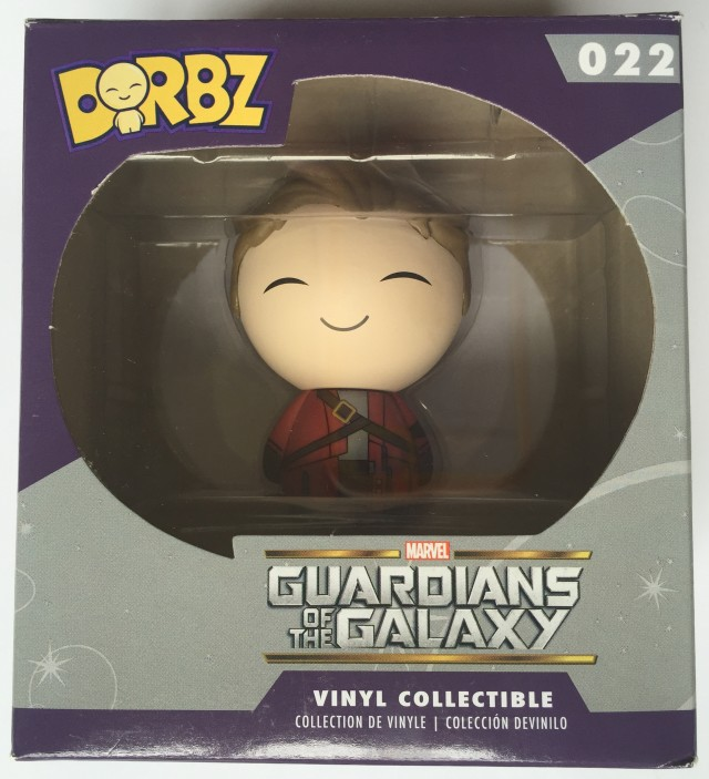 Funko Dorbz Unmasked Star-Lord Figure Packaged Photo