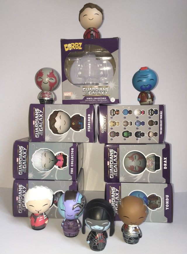 Guardians of the Galaxy Dorbz Figures Released