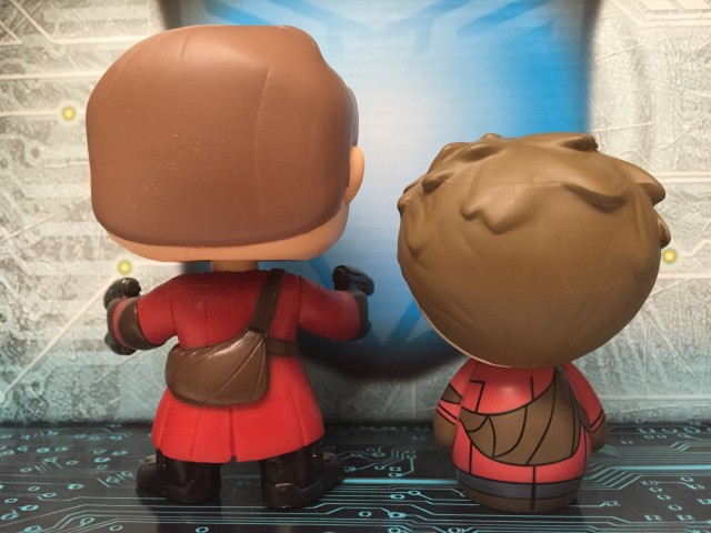 Funko Vinyl Sugar POP Vinyls Dorbz Size Comparison Photo Starlord