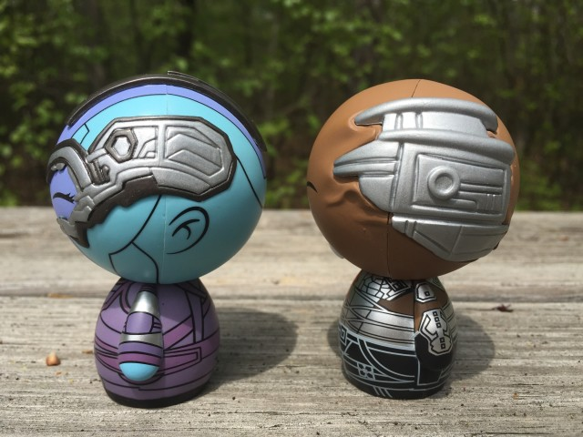Funko Dorbz Nebula Korath Cybernetic Implants on Heads