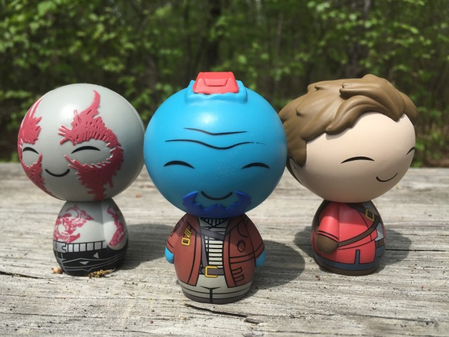 Dorbz Drax Yondu Star-Lord Unmasked Group Photo