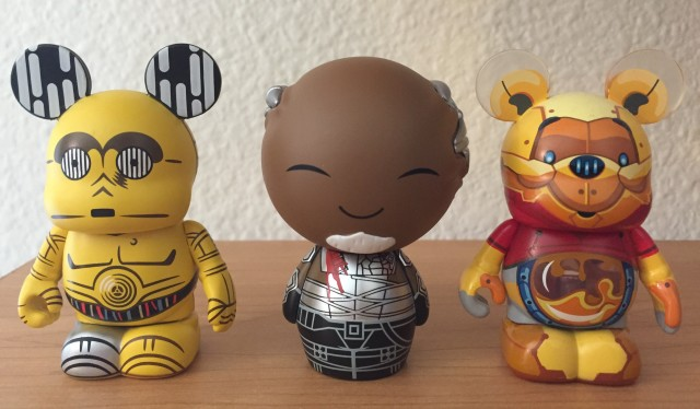 Scale Photo Korath Dorbz with Disney Vinylmation Figures