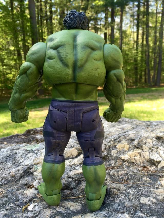 Back of Diamond Select Toys Hulk Age of Ultron Figure
