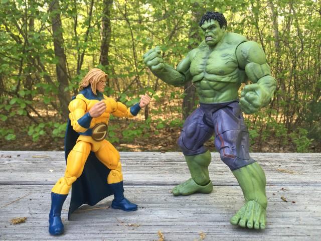 Marvel Select Age of Ultron Hulk vs. Marvel Legends Sentry Figure