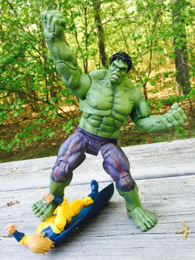 DST Hulk Avengers 2 Figure Smashes The Sentry Marvel Legends Figure