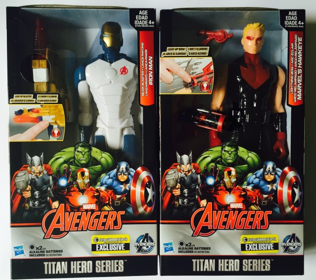 Entertainment Earth Exclusive Marvel Titan Hero Figures Boxes
