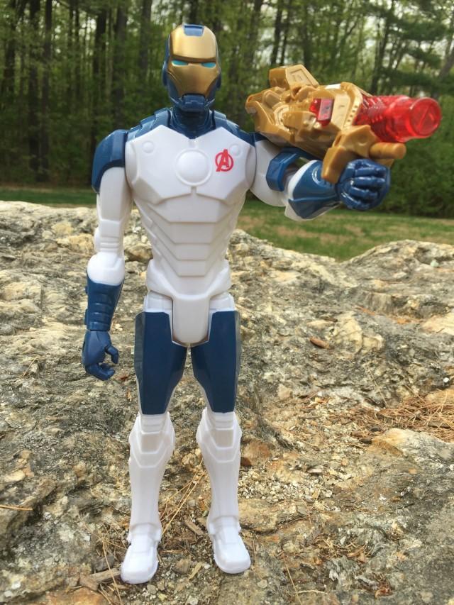 """Hasbro Beam Blaster Iron Man Iron Legion Action Figure 12"""""""