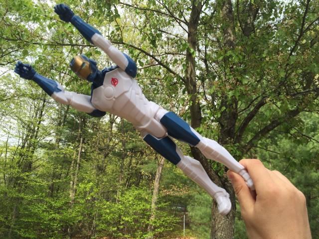 "Hasbro Iron Legion 12"" Figure Flying"