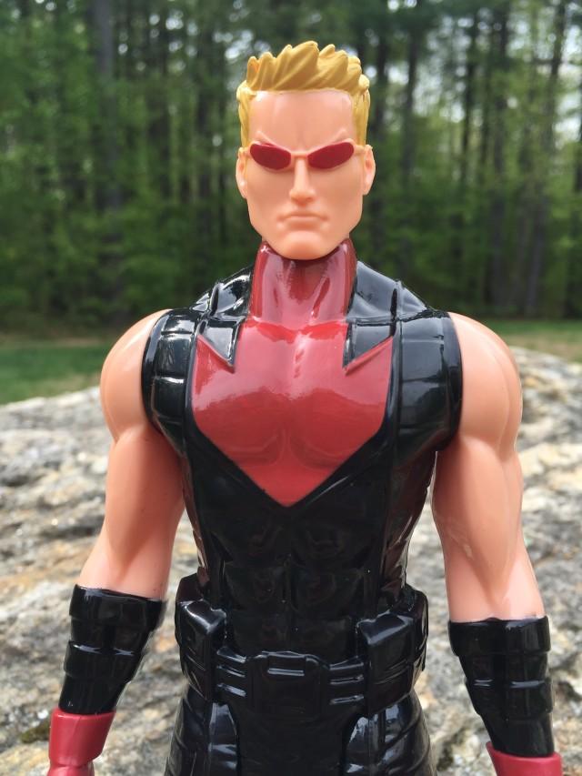 Ultimate Hawkeye Hasbro Figure Close-Up