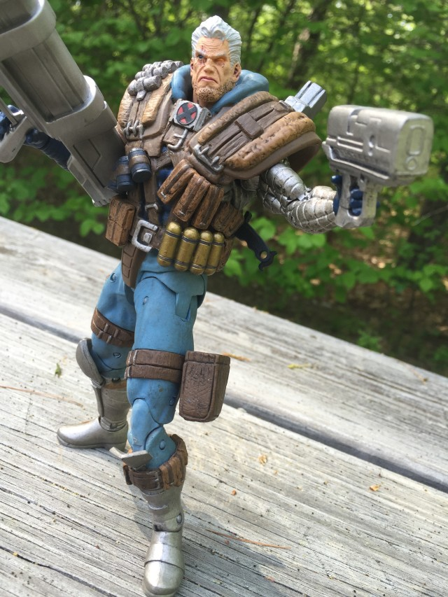 DST Marvel Select Cable Figure 2015