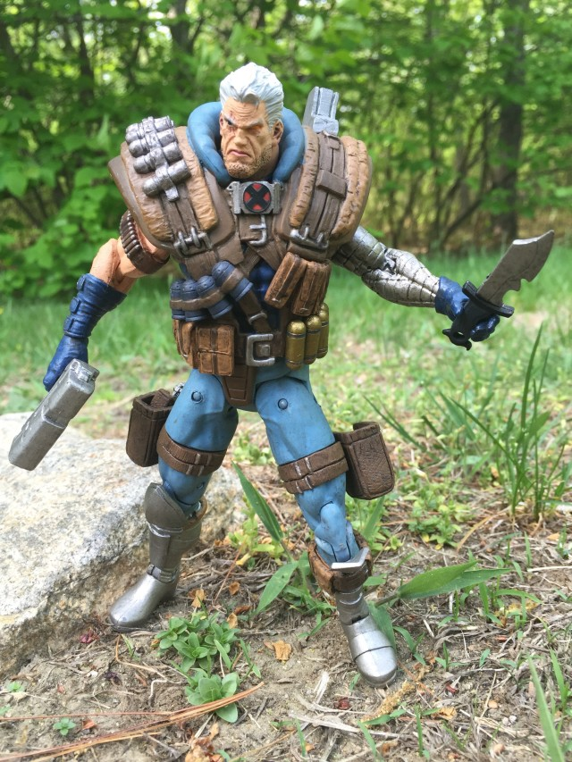 Marvel Select Cable Action Figure with Knife