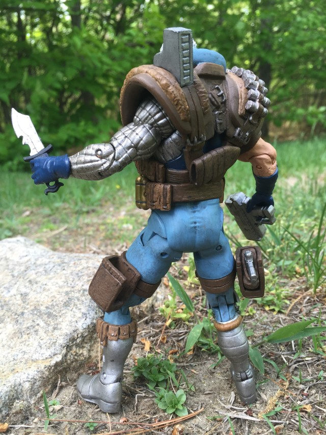 Marvel Select 2015 Cable Figure Back