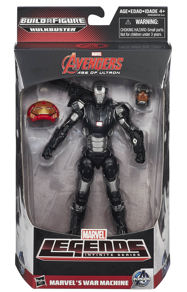Marvel Legends Avengers Wave 3 War Machine Mark II Figure Packaged