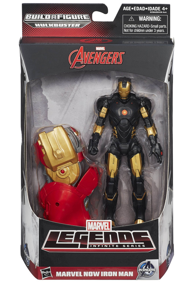 Marvel Now Iron Man Marvel Legends Figure Packaged