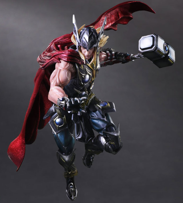 Play Arts Kai Marvel Variant Thor Figure September 2015