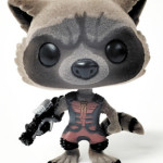 SDCC 2015 Exclusive Funko Flocked Ravagers Rocket Raccoon!