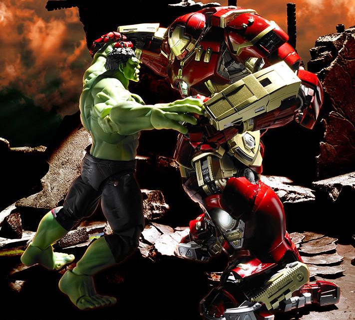 Figuarts Action Figure Bandai MARVEL Avengers Age of Ultron Hulk S.H