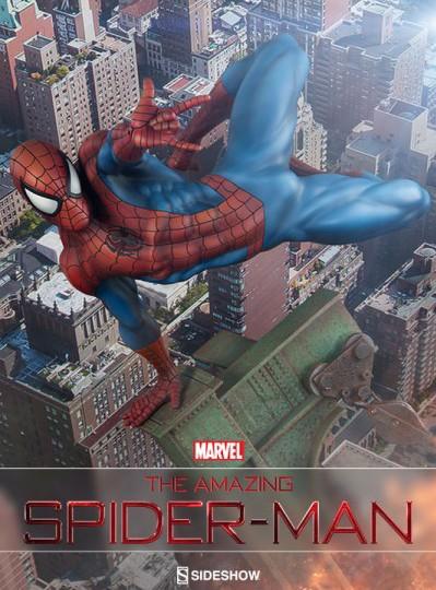 Sideshow Premium Format Spider-Man Statue