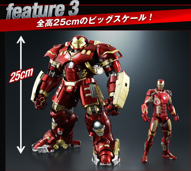 Size Comparison SH Figuarts Hulk Buster vs Iron Man Scale