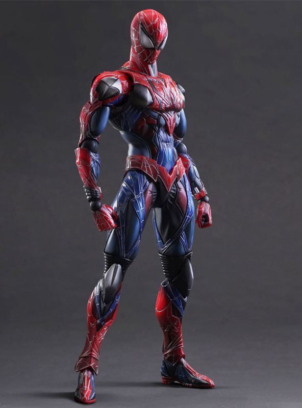 Square-Enix Play Arts Kai Spider-Man Figure