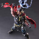Marvel Play Arts Kai Thor Figure Photos & Order Info!