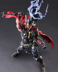 Square-Enix Thor Play Arts Kai Marvel Variant Action Figure