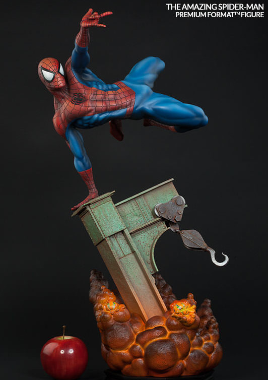The Amazing Spider-Man Premium Format Figure Scale Photo Sideshow Collectibles