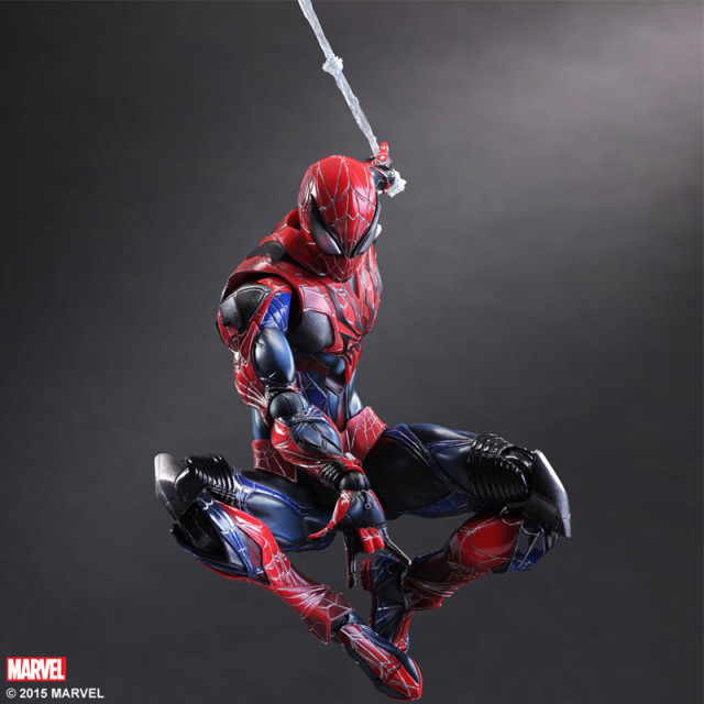 Web-Swinging Spider-Man Play Arts Kai Action Figure