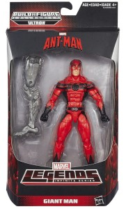 2015 Marvel Legends Giant-Man Figure Packaged with Ultron Prime Leg