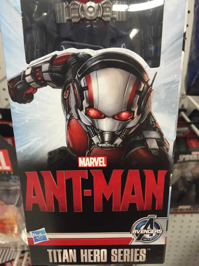 Ant-Man Titan Hero Series Packaging