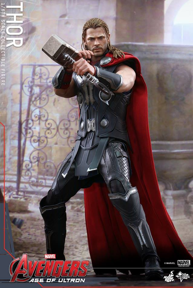 Avengers Age of Ultron Hot Toys Thor MMS 306 Sixth Scale Figure