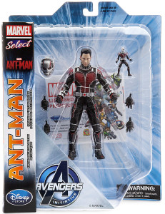 Disney Store Exclusive Unmasked Ant-Man Marvel Select Action Figure