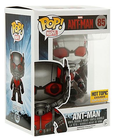 Funko Glow in the Dark Ant-Man POP Vinyl Figure Box