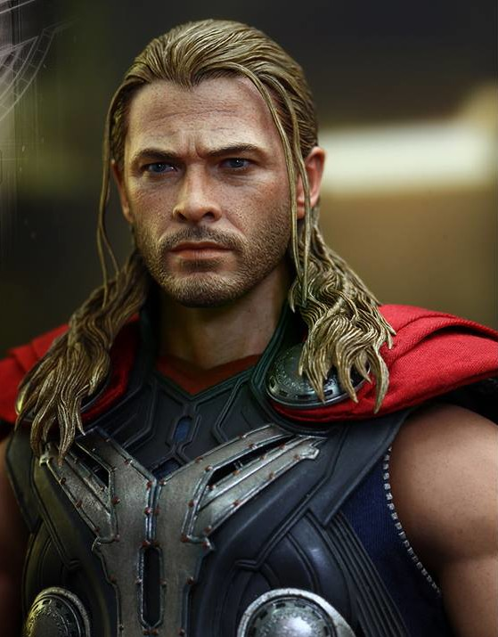 Hot Toys Thor Avengers Age of Ultron Head Sculpt Chris Hemsworth