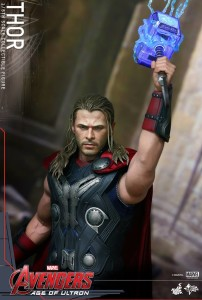 Hot Toys Thor LED Light Up Hammer with Effects Pieces