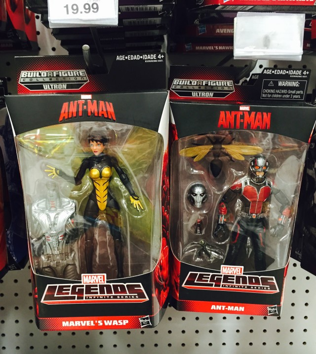 Ant-Man Marvel Legends Figures Released