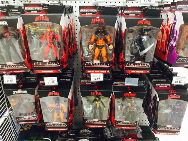 Marvel Legends Ant-Man Series Figures Released in Stores