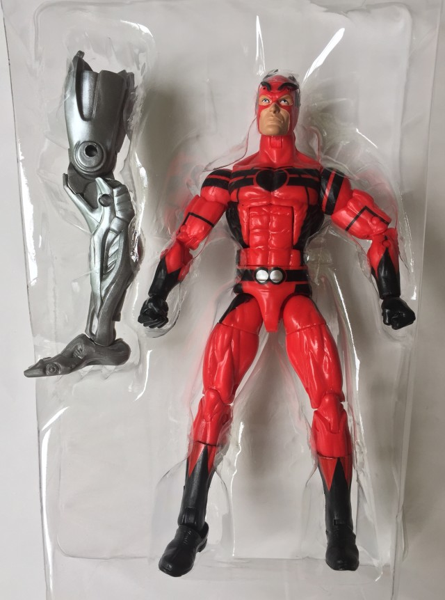 Marvel Legends Infinite Series Giant Man Figure with Ultron Prime Leg