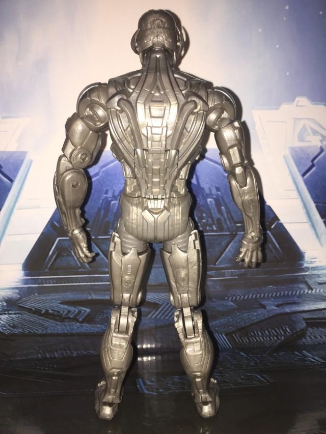 Back of Marvel Legends Ant-Man Series Ultron Prime Figure