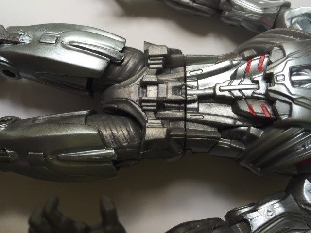 Mismatched Plastic Colors Grey Silver on Hasbro Ultron Prime Figure